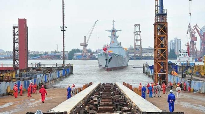 Chinese-built advanced warship inducted in Pakistan Navy fleet