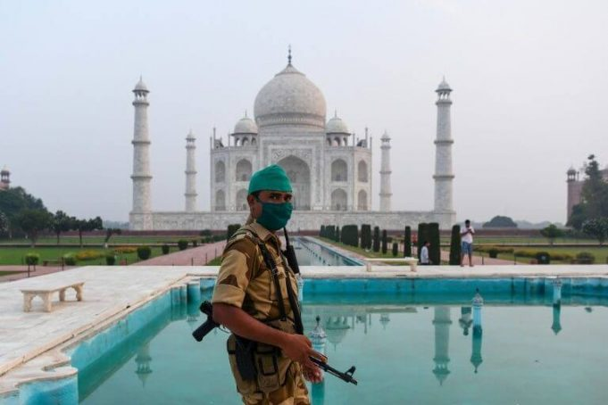 Taj Mahal reopens even as India COVID cases soar