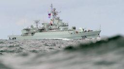 China Holds Military Drill