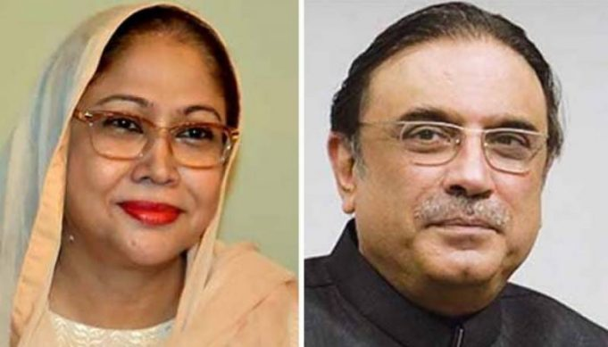 Zardari-and-Faryal-Talpur