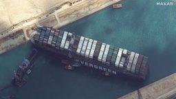 Suez Canal Blockade - Rick Woolsey Detroit