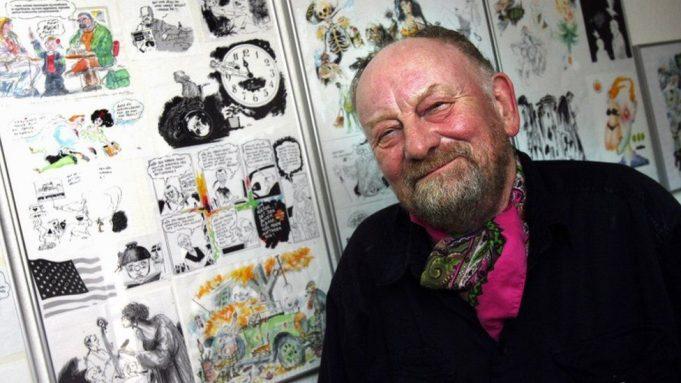 Danish cartoonist