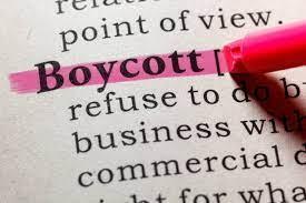 Texas boycott